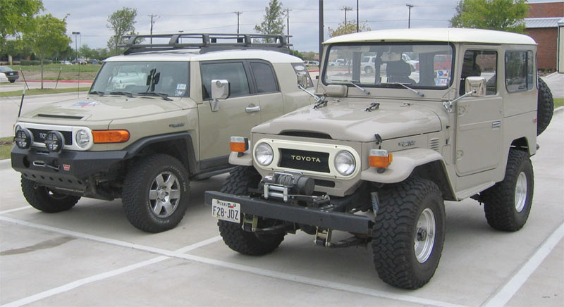 Old And New Pics Toyota Fj Cruiser Forum